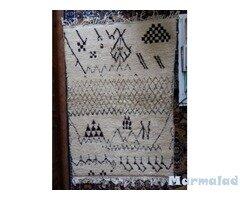 Берберски килим ръчна изработка