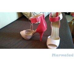 Дамски нови обувки висок ток