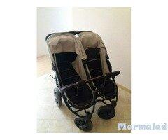 Детска количка за близнаци Хаук