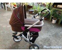 Детска количка с дъждобран